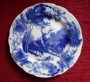 Plate with deers