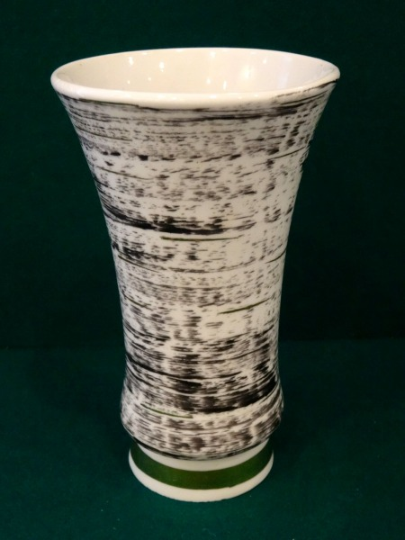 RPF Riga - Vase with black pattern