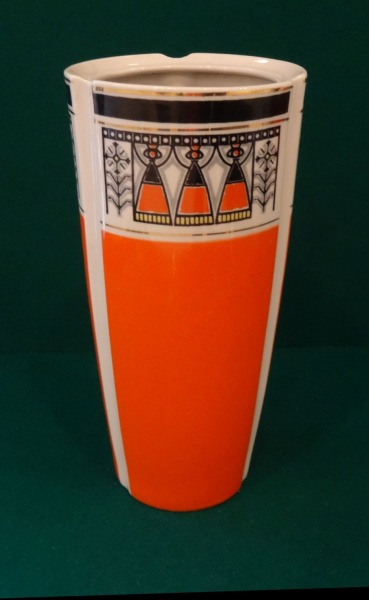 RPF Riga - Vase with a folk motif