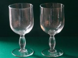 Wine glasses 2 pcs., Germany, 1960-ties, with defect