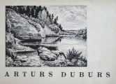 Arthur Duburs - Set of postcards, 16 pieces (full set), 1970, 10,5x14 cm