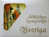 Old Town - Set of postcards, 16 pcs., Watercolors by V. Tanne (full set), - P.: Avots, Riga, 1980, 8