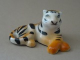 RPF - Tiger. Model author T. Poluikeviča (1937), 1986, porcelain, h 3 cm