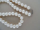 Pearl necklace. Length 50 cm