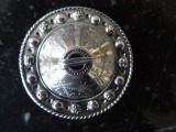 Silver brooch 875 proof. 9.29 g.