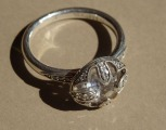 Tomas Sabo - silver ring with crystal