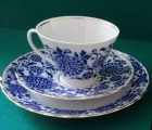 Riga Experimental Porcelain Factory - Сup with 2 saucers