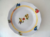 RPF - Plates with wildflowers, 5 pcs. 1970, Ø 20.5 cm