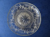 Glass bowl diam. 23.5 cm