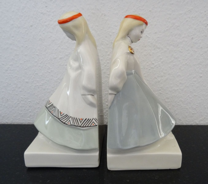 RPF - Book end 2pcs. Porcelain
