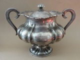 Silver Sugar Bowl, purity 875, 578 g.