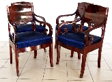 Mahogany chair set
