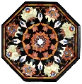 Octagonal table, Italy