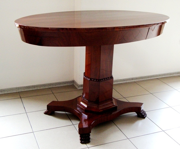 Table, around the 1800th