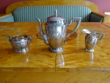 Banks Hermanis - silver set