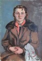 Woman in the coat