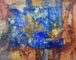 Blue-gold composition