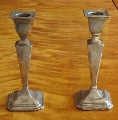 Art Deco candlesticks