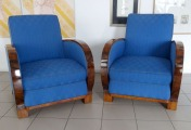 Armchairs - pair and sofa
