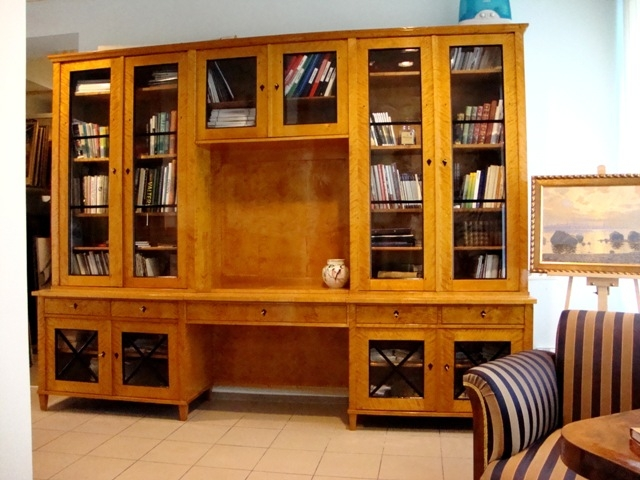Bookcase. Library