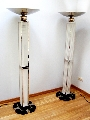 Floor lamps - pair
