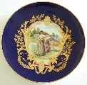 M.S. Kuznecov. Decorative plate