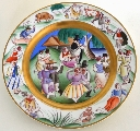 A Plate. Open-Air Dance