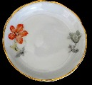 Saucers with flowers. Containers 1 + 5 pcs.