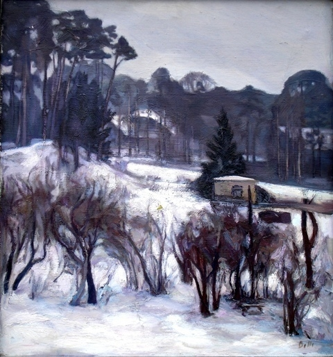 In winter