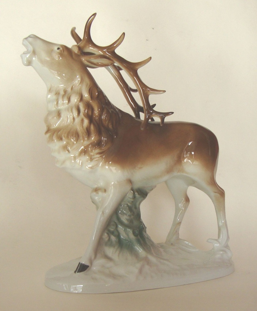 Item #161 - Deer - Auction 54 - Classic art gallery ANTONIJA