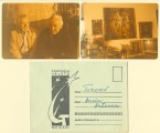 Photos Milts Friedrich and his works 2 pcs.
