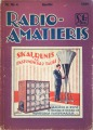Radio amateur magazine Nr. 4, 1930