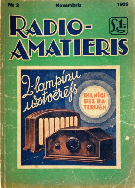 Radio amateur magazine  Nr. 2, 1929