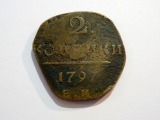 Paul`s I coin, royal Russia