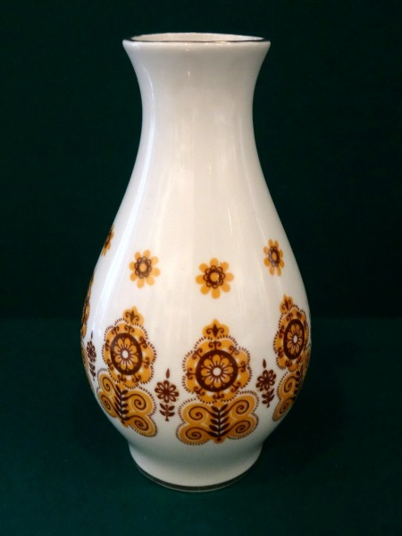 RPF Riga - Vase with a brown ornament