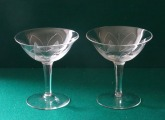 Champagne glasses 1950s, Germany