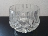 Crystal vase for fruits, h 10,5 cm diameter. 14 cm