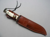Hunter's knife. Leather, Spain, The last fighters