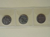 English silver coin set 6 pcs.