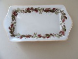 RPR - Serving plate. Porcelain, decoration, painting, 1980s, 20.5x11 cm