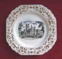 Crown Devon - Plate. England, Ø 21 cm