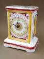 Table Clocks Authors Signature Z. Linda. Handmade, porcelain 16.5x12x8 cm