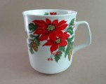 Jessen - Cup with poinsettias