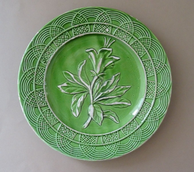 Kuznetsov - Decorative plate, ceramics