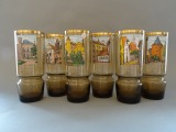 "A set of glasses ""Old Riga"", 6 pcs. h 15 cm"