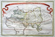 World map. R. W. Seale ( 1733-1785 ), 21x31 cm