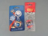 "Keychains ""FIFA WORLD CHAMPION 2018 RUSSIA"" and ""Ministry of Youth, Sports and Tourism"""