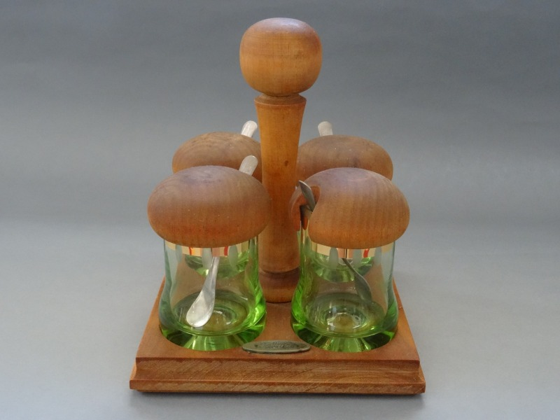 Daiļrade - Set for spices, wood, glass