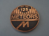 Table medal Meteor, copper
