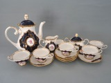 R. Kobalts - Coffee set for 6 persons, master LS / AR, unused